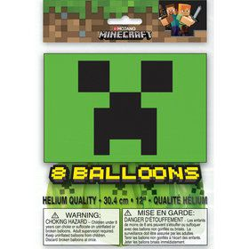 Minecraft Latex Balloons (8)