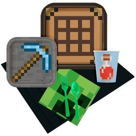 Minecraft Party Pack for 8