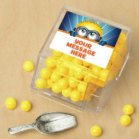 Minion Personalized Candy Bin with Candy Scoop (10 Count)