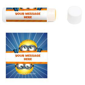 Minion Personalized Lip Balm (12 Pack)