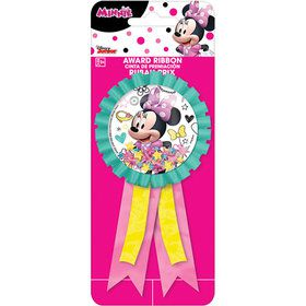 Minnie Mouse Confetti Pouch Award Ribbon (1)