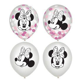 Minnie Mouse Forever Confetti Balloons (6)