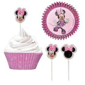 Minnie Mouse Forever Cupcake Kit
