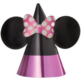 Minnie Mouse Forever Foil Party Hats (8)