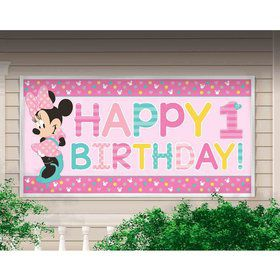 Minnie Mouse Fun To Be One Banner (1)