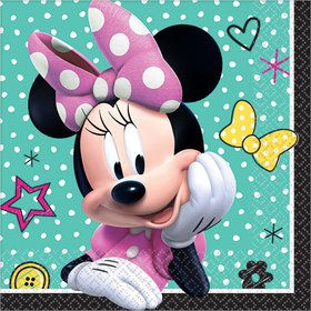 Minnie Mouse Helpers Beverage Napkins (16)
