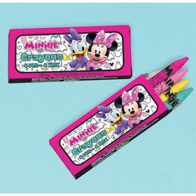 Minnie Mouse Helpers Crayons (12)