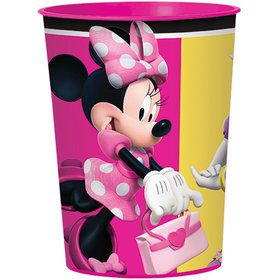 Minnie Mouse Helpers Plastic 16oz Favor Cup (1)