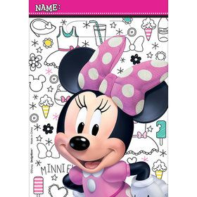 Minnie Mouse Helpers Treat Bags (8)