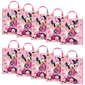 Minnie Mouse Party Tote Bag (Set of 10)