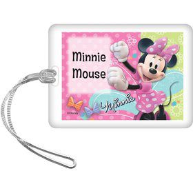 Minnie Mouse Personalized Bag Tag (Each)