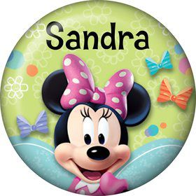 Minnie Mouse Personalized Mini Button (Each)