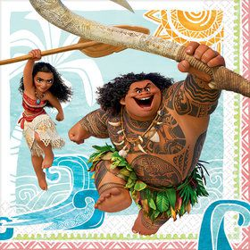 Moana Lunch Napkin (16 Count)