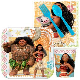 Moana Standard Tableware Kit (Serves 8)
