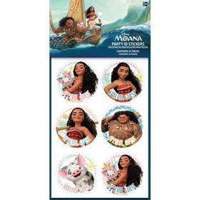 Moana Sticker Sheets (4)