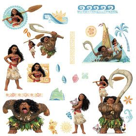 Moana Wall Decals