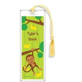 Monkey Party Personalized Bookmark (each)