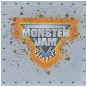 Monster Jam 3D Lunch Napkins