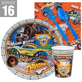 Monster Jam 3D Snack Party Pack For 16