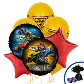 Monster Jam Balloon Bouquet