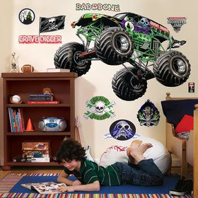Monster Jam Giant Wall Decals