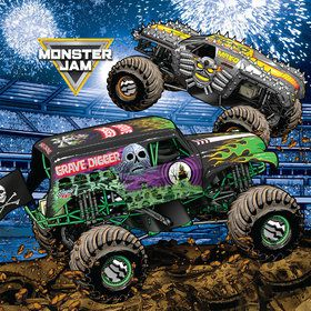 Monster Jam Grave Digger Party Lunch Napkins (20)