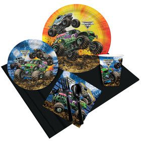 Monster Jam Grave Digger Party Pack for 8
