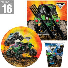 Monster Jam Grave Digger Snack Pack for 16