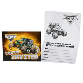 Monster Jam Invites (8)