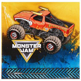 Monster Jam Party Supplies Boys Birthday Party Ideas Birthday
