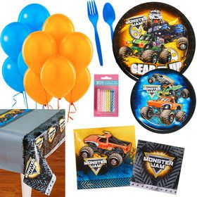 Monster Jam Party Essentials Kit (Serves 16)