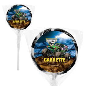 "Monster Jam Personalized 2"" Lollipops (20 Pack)"