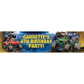Monster Jam Personalized Banner (Each)