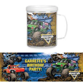 Monster Jam Personalized Favor Mug (Each)