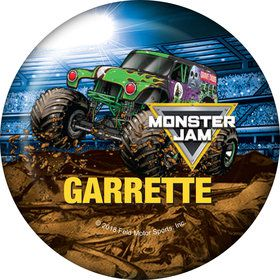 Monster Jam Personalized Mini Button (Each)