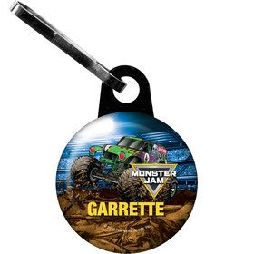 Monster Jam Personalized Zipper Pull (Each)