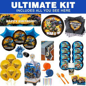 Monster Jam Ultimate Tableware Kit (Serves 8)
