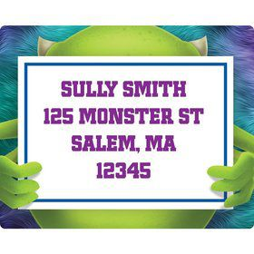 Monster Personalized Address Labels (Sheet Of 15)
