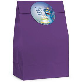 Monster Personalized Favor Bag (Set Of 12)