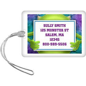 Monster Personalized Luggage Tag (Each)