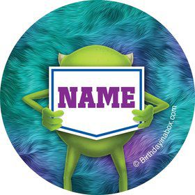 Monster Personalized Mini Stickers (Sheet of 24)