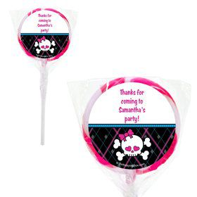 Monster School Personalized 2#34; Lollipops (20 Pack)