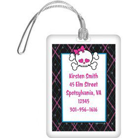 Monster School Personalized Luggage Tag (each)