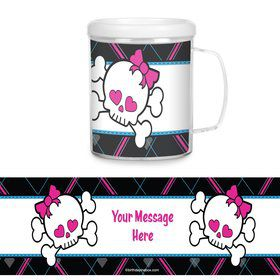 Monster School Plastic Personalized Favor Mugs (Each)