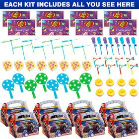 Monster Truck Favor Kit (For 8 Guests)