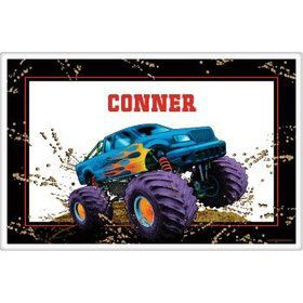Monster Truck Personalized Placemat (each)