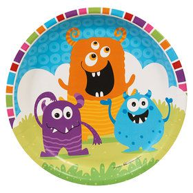 Monsters Dinner Plates (8)