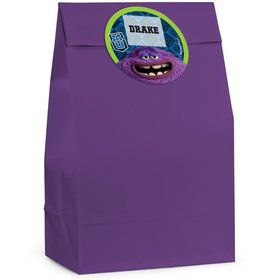 Monsters Personalized Favor Bag (Set Of 12)