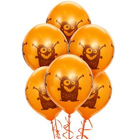 Monsters Theme Latex Balloon