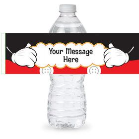 Mouse Personalized Bottle Label (Sheet of 4)